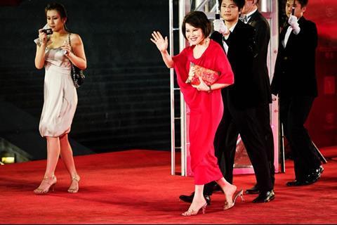 Actress and cosmetics entrepreneur Yue Sai Kan
